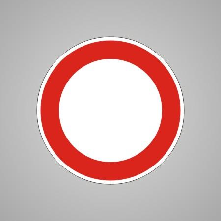 verkehrsschild verkehrszeichen 250 verbot der einfahrt fahrzeuge aller art verkehrsschilder stvo. Black Bedroom Furniture Sets. Home Design Ideas